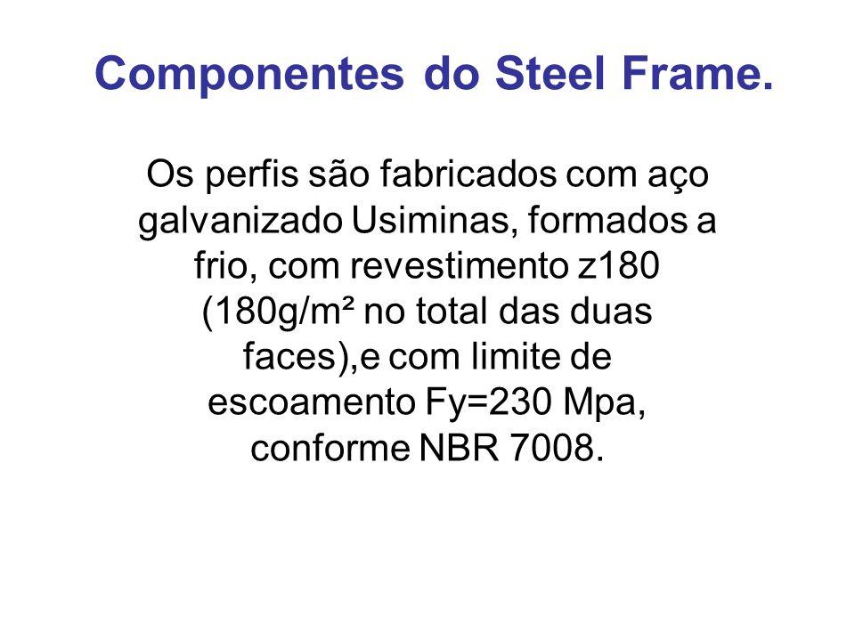 Steel Frame – Solução Usiminas para construção civil. Estrutura da caixa dágua Alçapão
