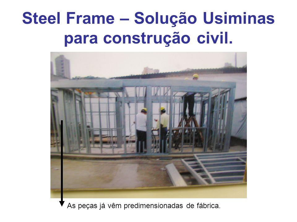 Steel Frame – Solução Usiminas para construção civil. SHAFT