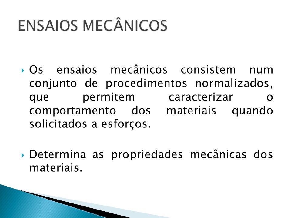 Elasticidade: capacidade que um material tem de retornar à sua forma e dimensões originais quando cessa o esforço que o deformava.