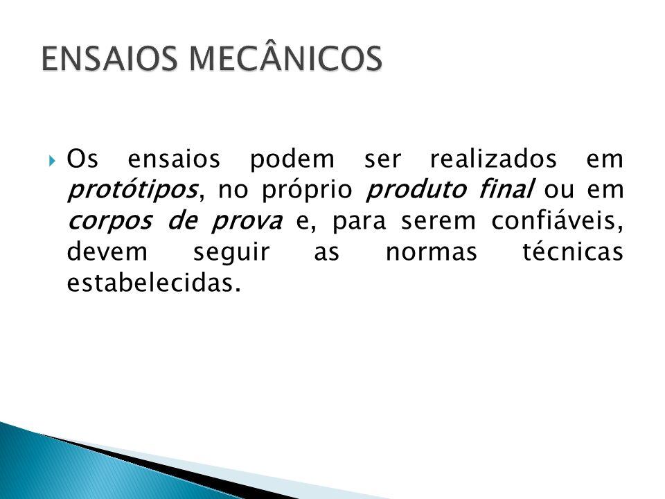 ASTM (American Society for Testing and Materials). ABNT (Associação Brasileira de Normas Técnicas).