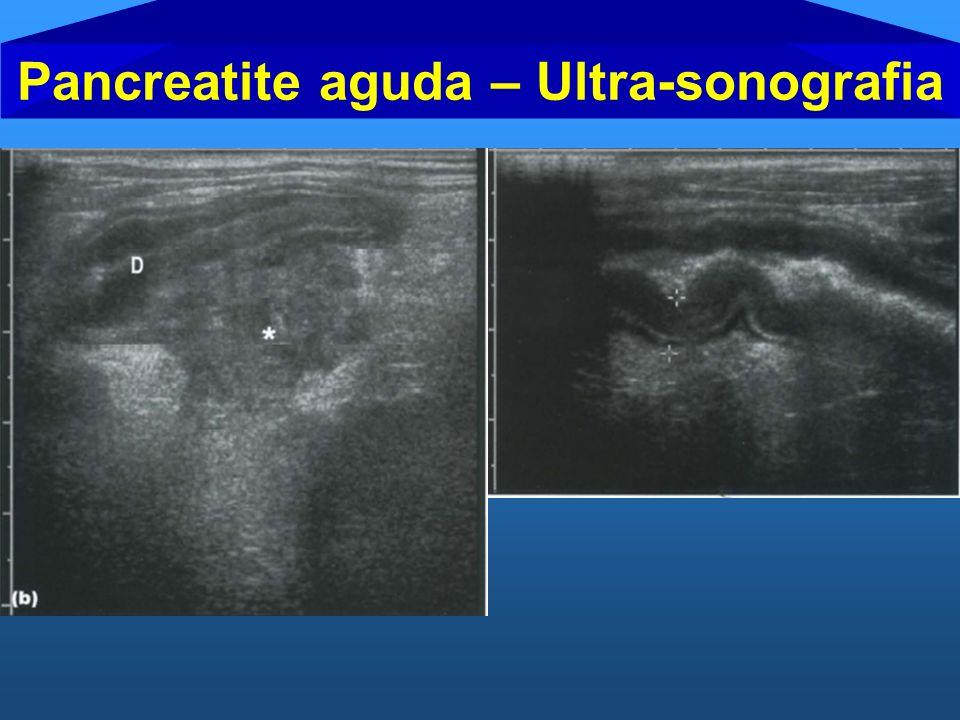 Pancreatite aguda – Ultra-sonografia