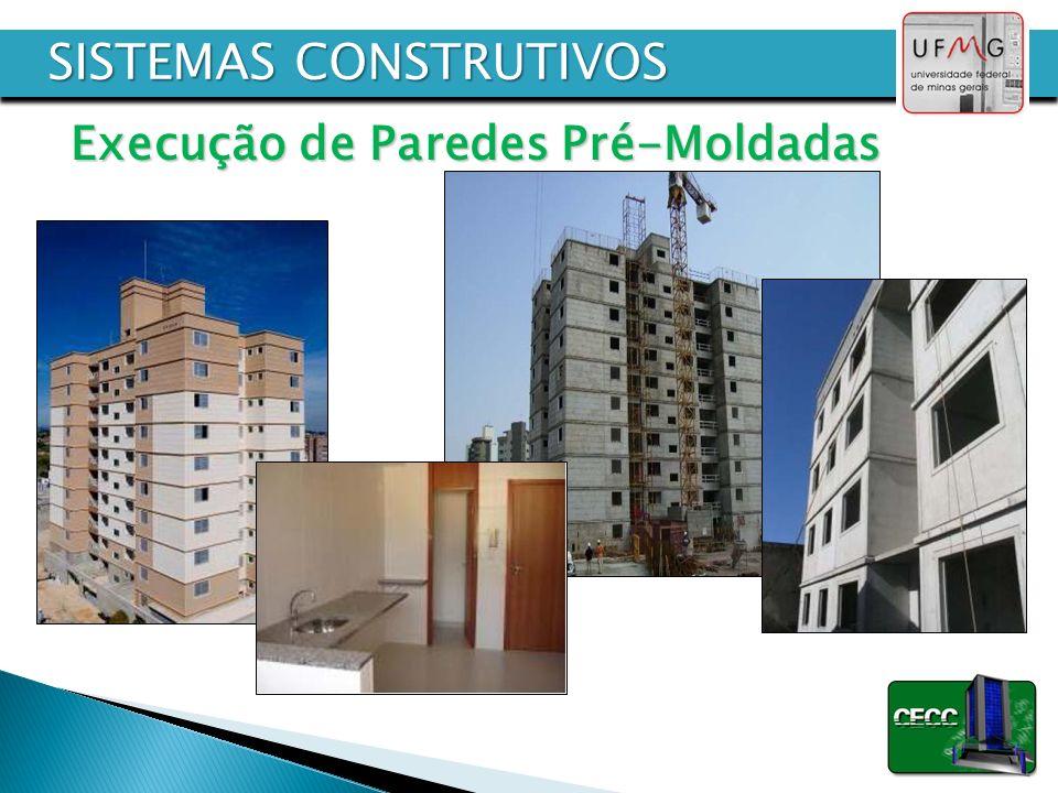Execução de Paredes Pré-Moldadas SISTEMAS CONSTRUTIVOS