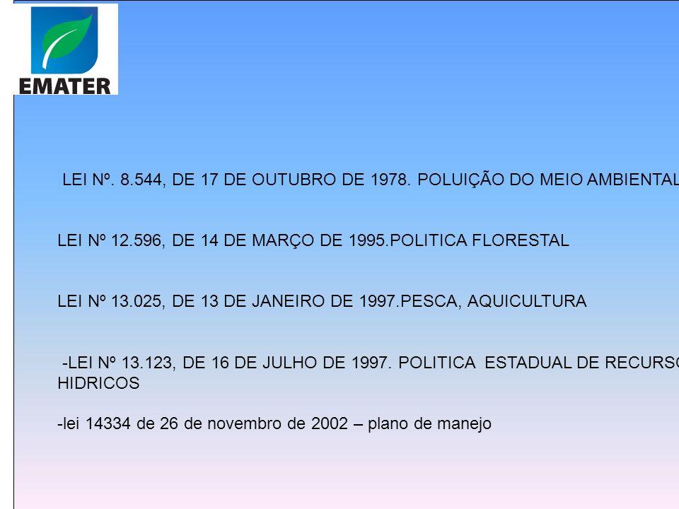 LEI Nº 9.605, DE 12 DE FEVEREIRO DE 1998.sançoes penais DECRETO Nº 6.514, DE 22 DE JULHO DE 2008.