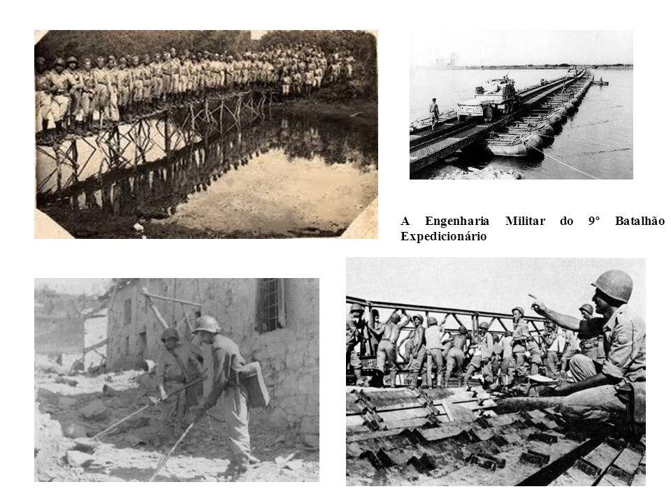 A Engenharia Militar do 9º Batalhão Expedicionário