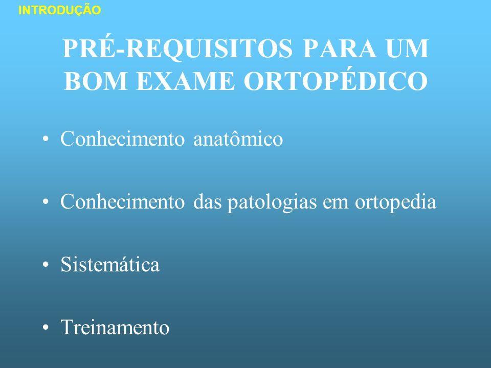 EXAME CLÍNICO DA CLAUDICAÇÃO Definição: SISTEMÁTICA DO EXAME AVALIAÇÃO DA MARCHA - Distúrbio estrutural ou funcional - Indicação de dor, enfraquecimento ou deformidade - Osteoarticular, muscular ou neurológico