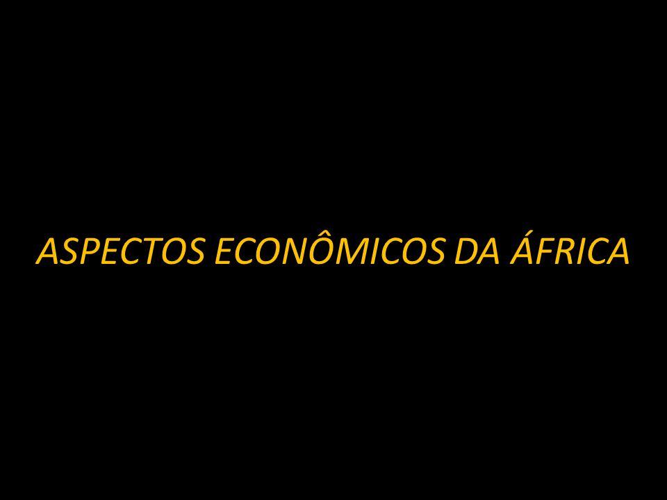 ÁFRICA Características principais: - países subdesenvolvidos; - predomínio de população jovem; - dependência econômica; - elevado crescimento vegetativo; e - baixo IDH.