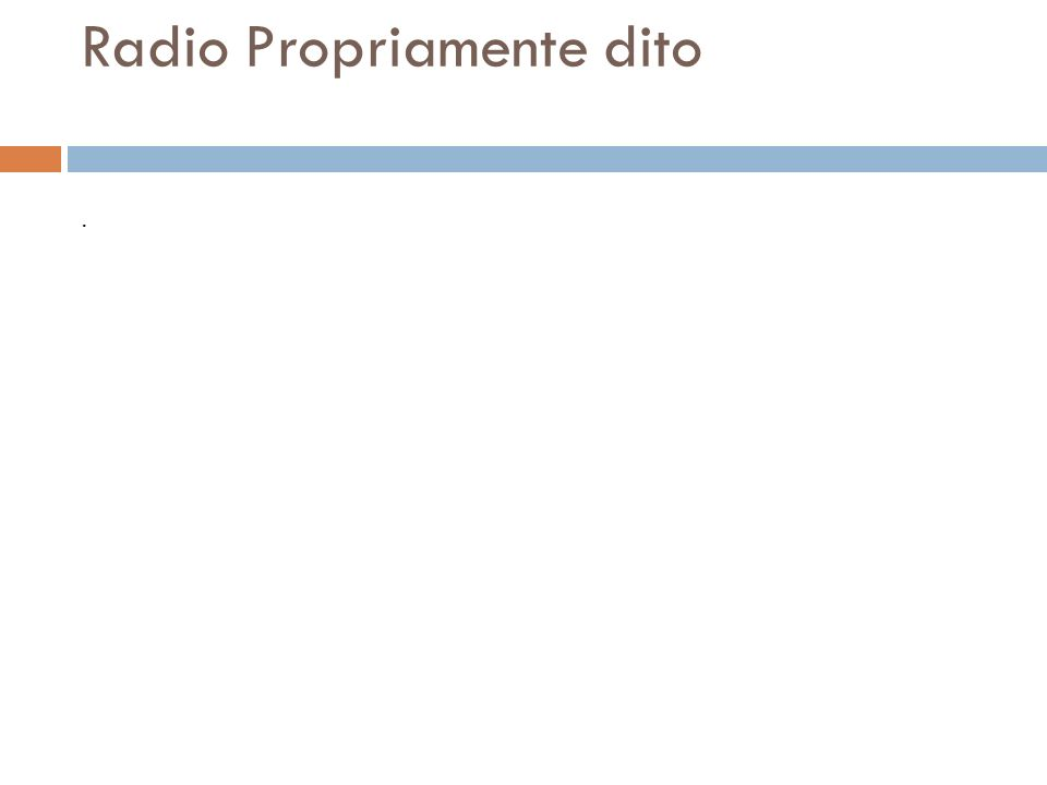 Radio Propriamente dito. O rádio um sistema de comunicação através de ondas eletromagnéticas propagadas no espaço, que por serem de comprimento difere