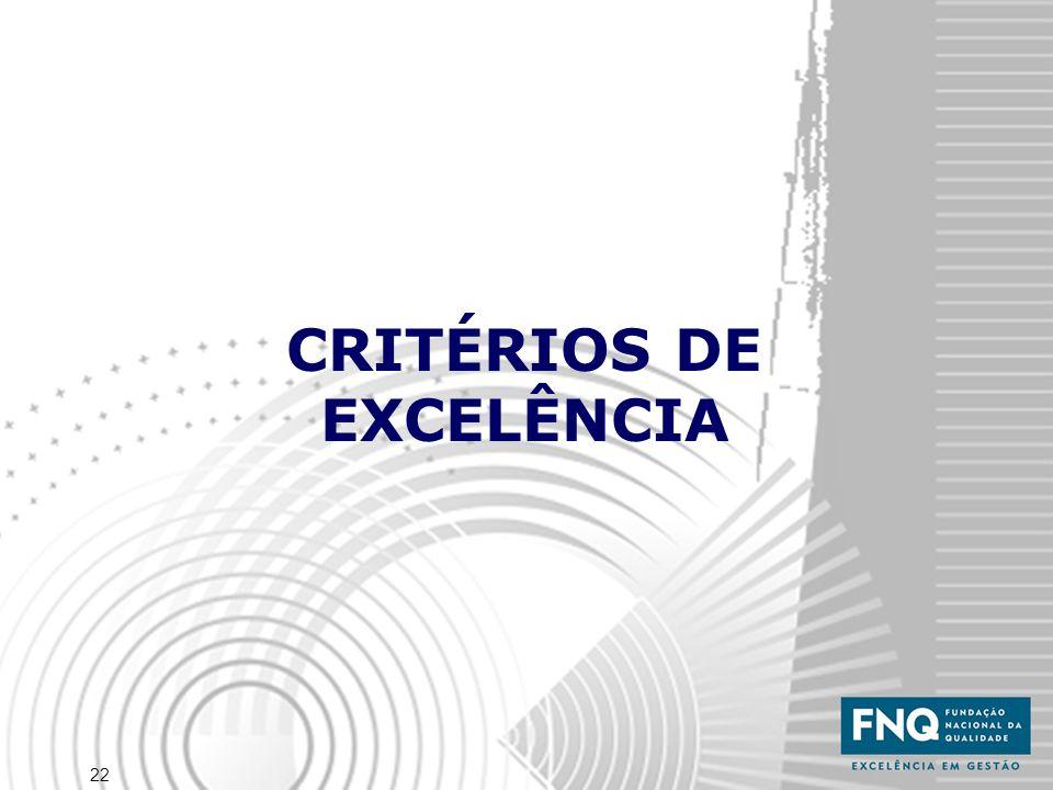 22 CRITÉRIOS DE EXCELÊNCIA