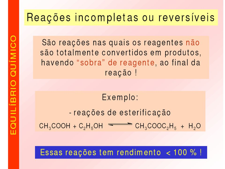 O produto da reação apresentada é um éster.