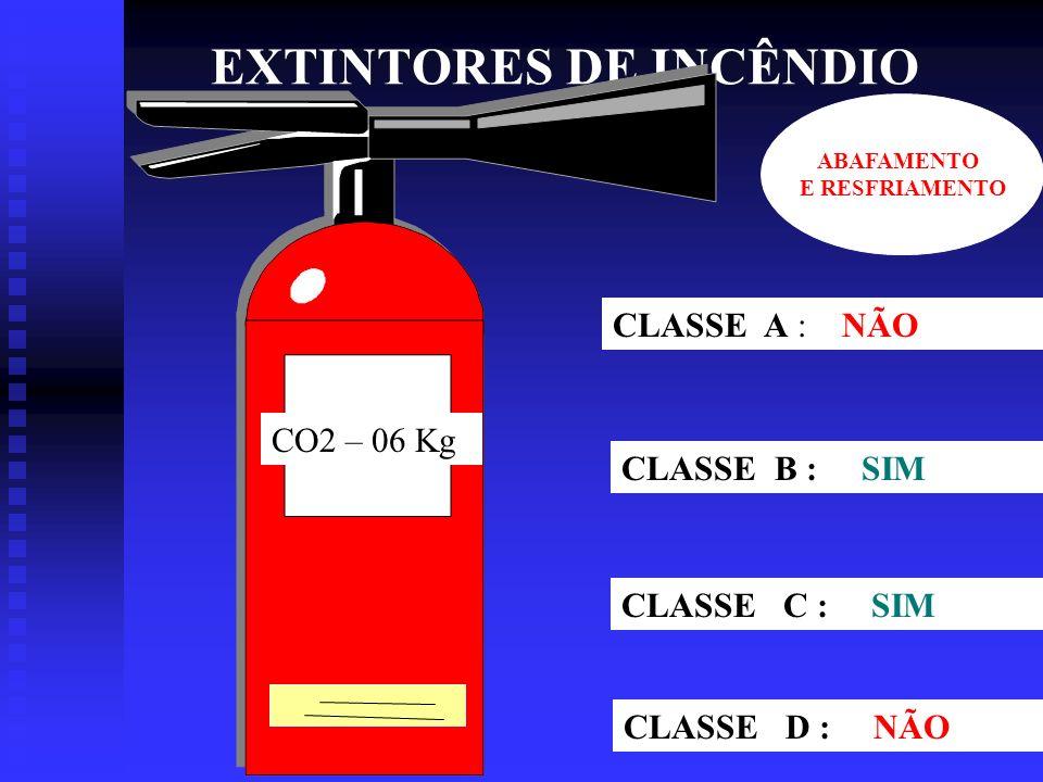 EXTINTORES DE INCÊNDIO ÁGUA-10 L CLASSE A : SIM CLASSE B : NÃO CLASSE C : NÃO CLASSE D : NÃO RESFRIAMENTO