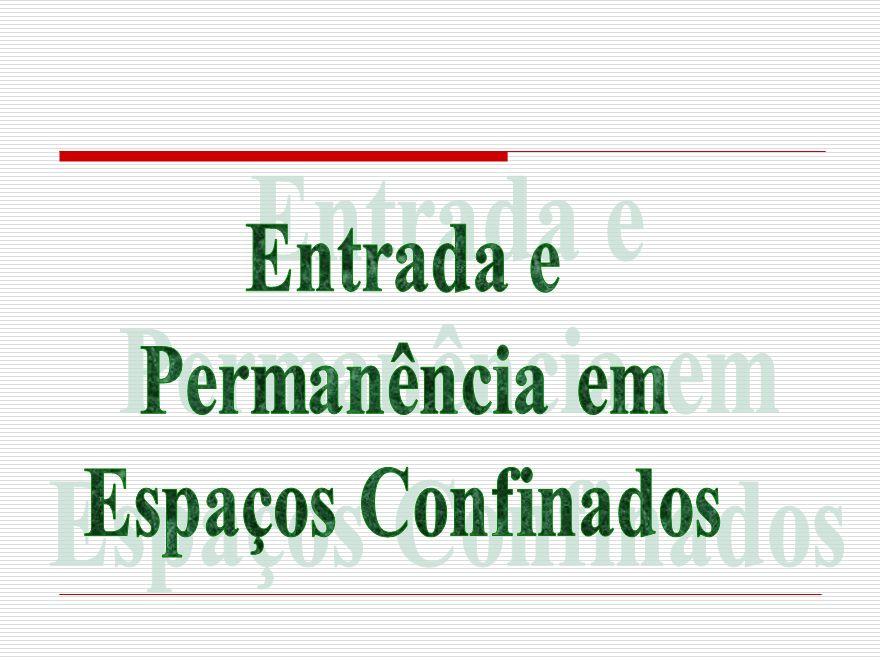 OS RISCOS ATMOSFÉRICOS : VENTILAÇÃO DEFICIENTE PROPICIA ALÉM DA DEFICIÊNCIA DE OXIGÊNIO, O ACÚMULO DE GASES NOCIVOS COMO PRINCIPALMENTE O H 2 S (GÁS SULFÍDRICO) E O CO (MONÓXIDO DE CARBONO), QUE SÃO RESPONSÁVEIS POR 60% DAS VÍTIMAS DOS ACIDENTES EM AMBIENTES CONFINADOS.