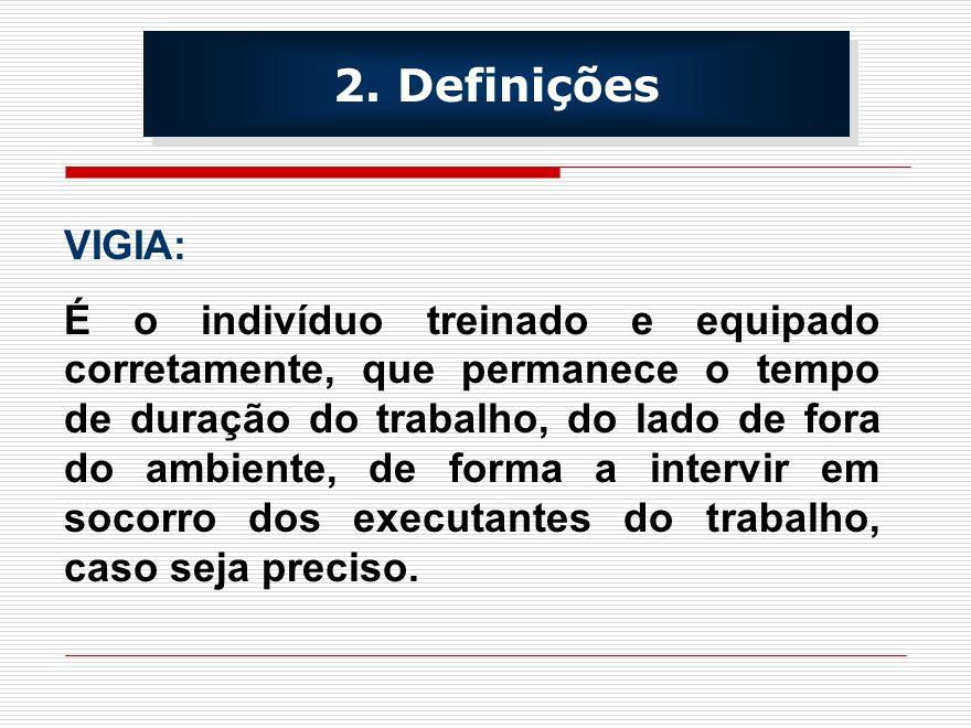 RISCOS AMBIENTAIS: CONCENTRAÇÃO DE QUALQUER SUBSTÂNCIA ACIMA DO LIMITE DE TOLERÂNCIA; QUALQUER CONDIÇÃO RECONHECIDA COMO IMEDIATAMENTE PERIGOSA À SAÚDE OU À VIDA.