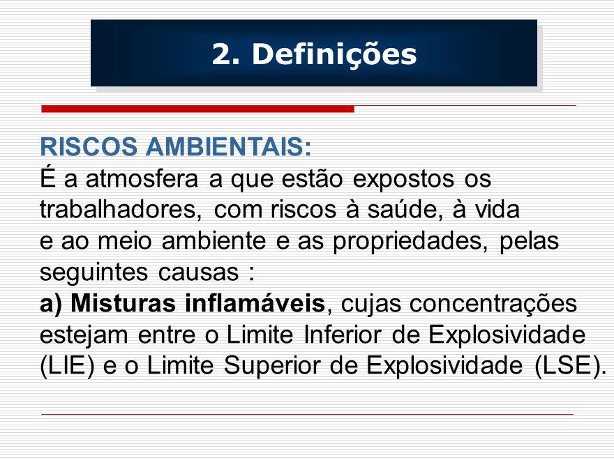 ATIVIDADES AGRAVANTES : OS TRABALHOS DE SOLDA, CORTES A QUENTE, TRATAMENTO TÉRMICO, FUNCIONAMENTO DE MOTORES A COMBUSTÃO NO INTERIOR DE ESPAÇOS CONFINADOS, PODE CRIAR ATMOSFERAS DE ALTO RISCO OU PERIGOSAS.