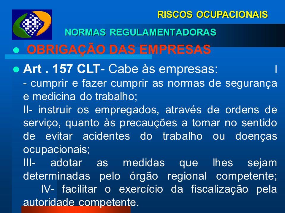 RISCOS OCUPACIONAIS LEI 8. 213/91 FISCALIZAÇÃO Art. 19. (...) § 4º Os Ministérios do Trabalho e da Previdência Social fiscalizarão e os sindicatos e e