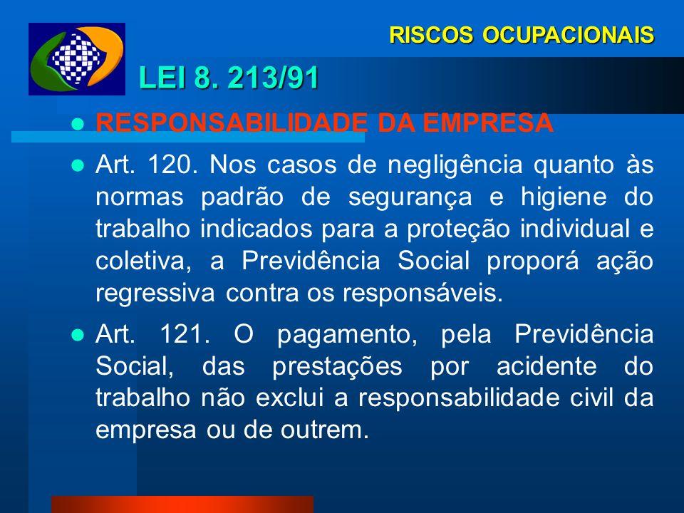 RISCOS OCUPACIONAIS NORMAS REGULAMENTADORAS NR-1 1.1. As Normas Regulamentadoras - NR, relativas à segurança e medicina do trabalho, são de observânci