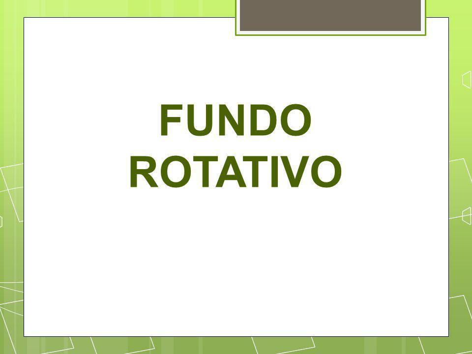 ADMINISTRAÇÃO DO FUNDO ROTATIVO Os recursos do fundo rotativo serão gerido por um gestor - servidor ocupante de cargo efetivo – o qual será designado por ato do ordenador da despesa contendo os dados requeridos no art.