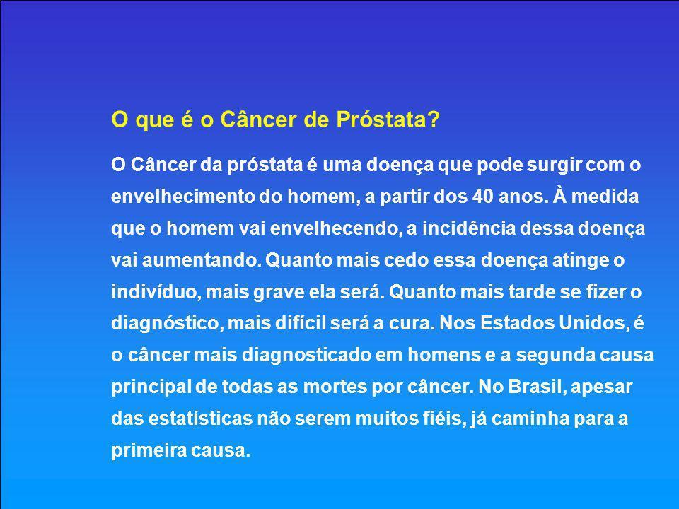 O que é a Próstata.