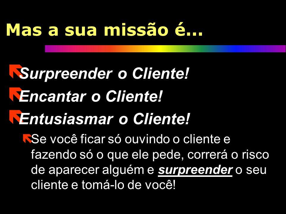 Ouvir o cliente? ë Antes que você me ache louco, deixe-me explicar: ëÉ claro que você deve ouvir o cliente! ëIsto porque ouvir o cliente é a maneira m