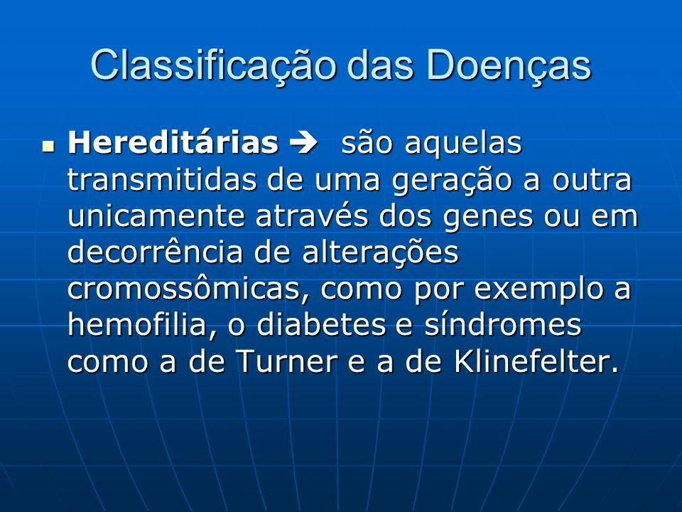 Epidemiologia Estudo das doenças transmissíveis ou contagiosas.