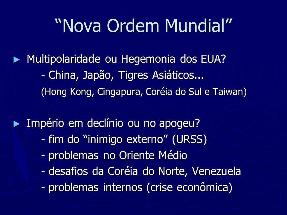 Globalização Globalização Neoliberalismo Neoliberalismo Blocos Econômicos Mundiais: Blocos Econômicos Mundiais: Nafta Nafta Mercosul Mercosul União Européia União Européia Alca Alca