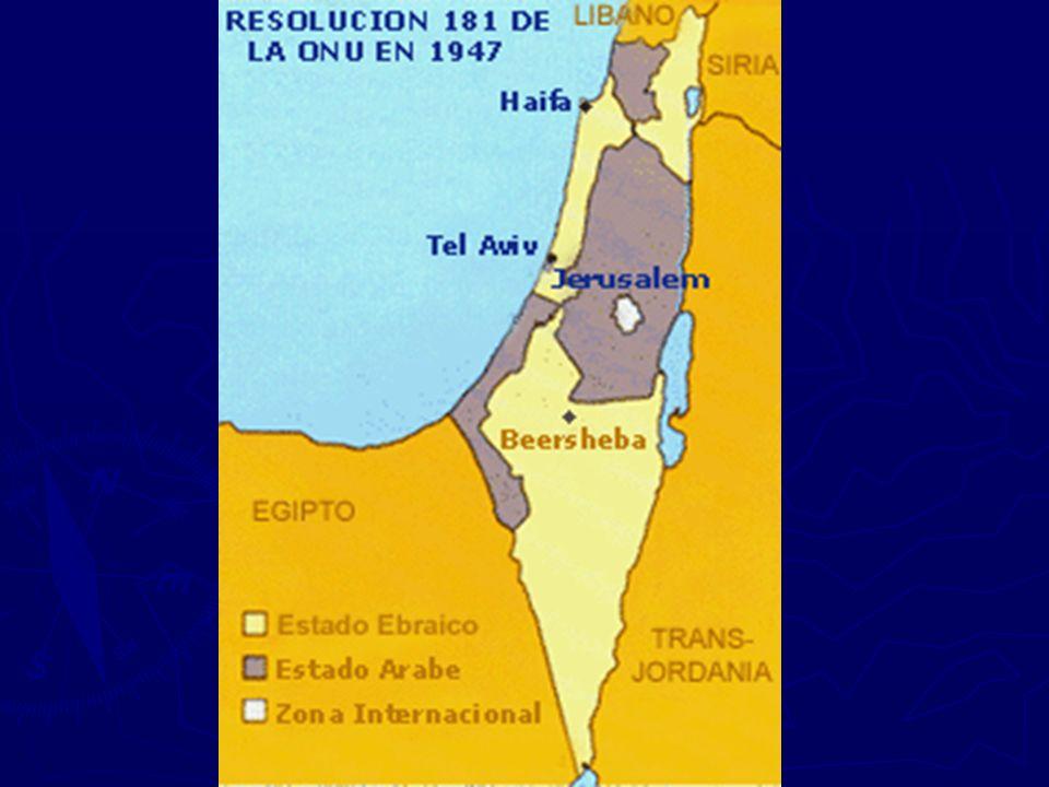 Árabes não aceitam a partilha = Guerra Árabes não aceitam a partilha = Guerra - Palestinos + Egito + Síria + Líbano + Iraque + Jordânia X Israel* * Apoio dos EUA, Inglaterra e outros...