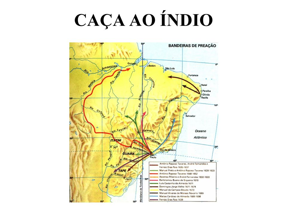 CAÇA AO ÍNDIO