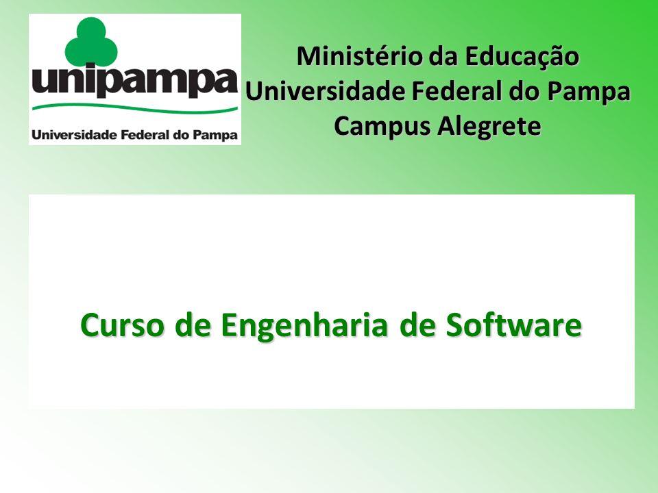 Curso de Engenharia de Software Ministério da Educação Universidade Federal do Pampa Campus Alegrete