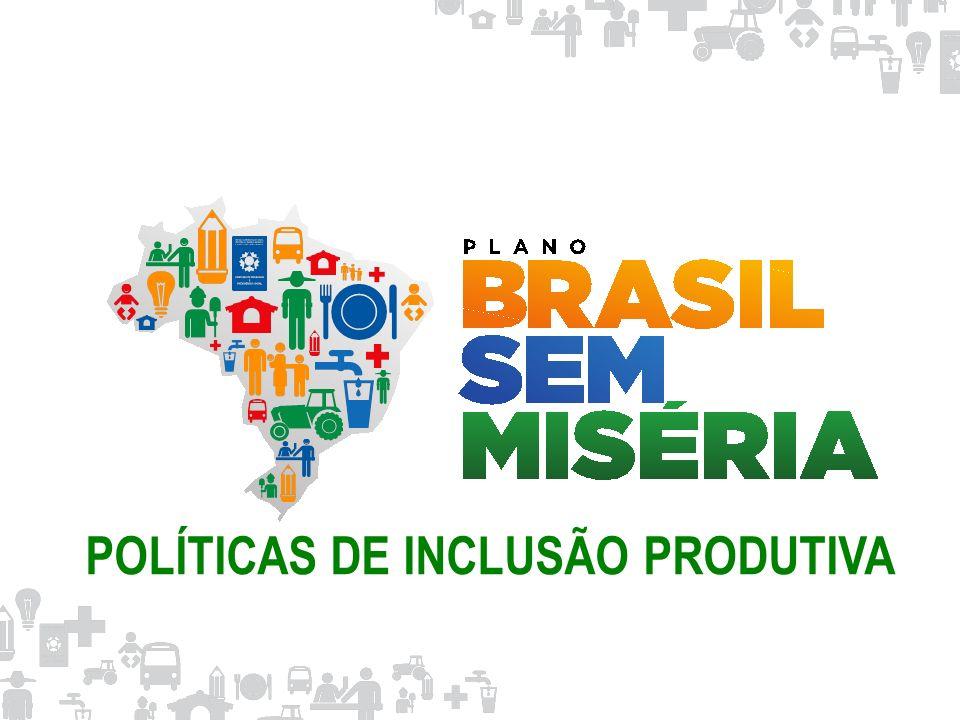 POLÍTICAS DE INCLUSÃO PRODUTIVA