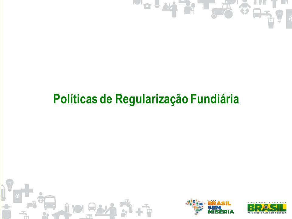 Políticas de Regularização Fundiária