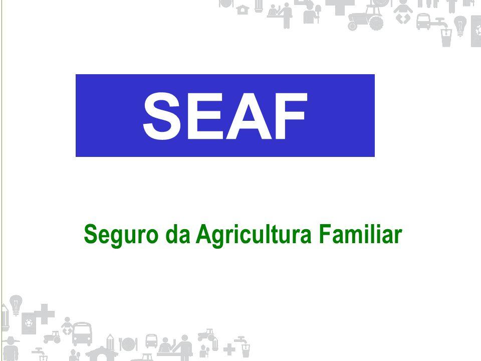 SEAF Seguro da Agricultura Familiar