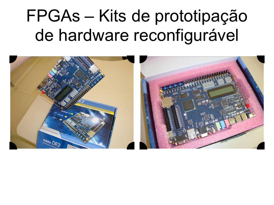 FPGAs – Kits de prototipação de hardware reconfigurável