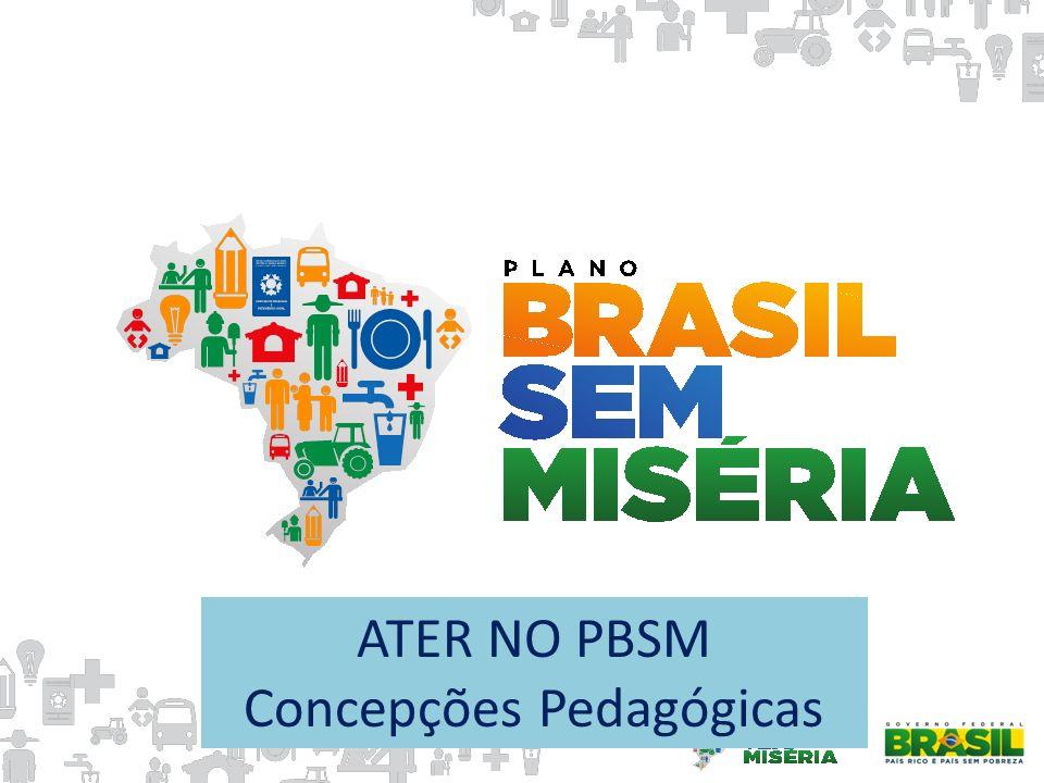 ATER NO PBSM Concepções Pedagógicas