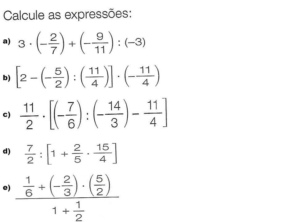 a) b) c) d) e)