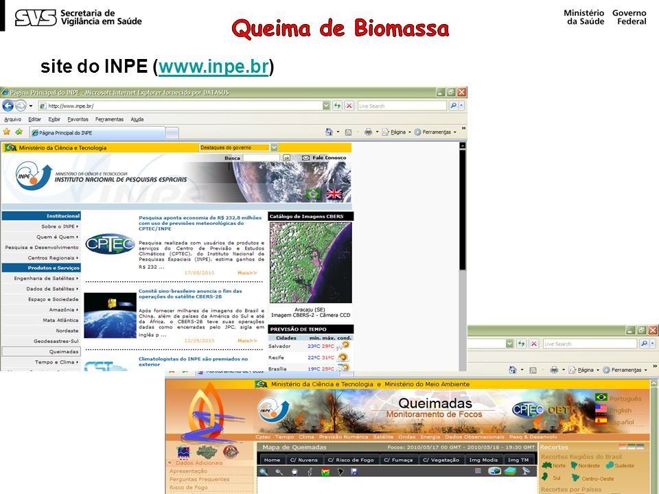 site do INPE (www.inpe.br)www.inpe.br