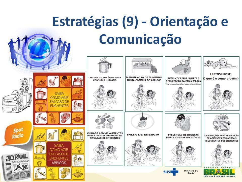 Estratégias (9) - Orientação e Comunicação
