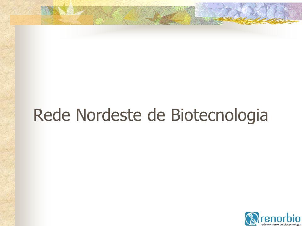 Parcerias com empresas: Acordo com Koppert (Empresa holandesa especializada em controle biológico de pragas), em negociação com o Estado do Ceará para trabalhar na área de floricultura e fruticultura Proposta Biominas Projeto FINEP (encomenda) – Estudo para o Estabelecimento de Pólos de Biotecnologia no NE e ES, como resultante das Ações da RENORBIO