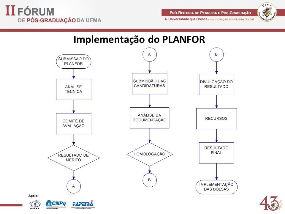 Implementação do PLANFOR