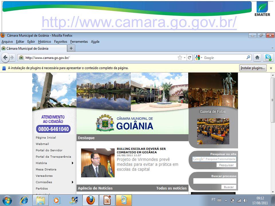 http://www.camara.go.gov.br/