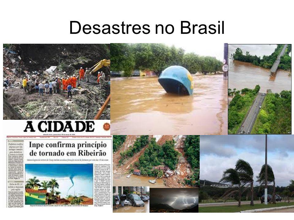 Desastres no Brasil