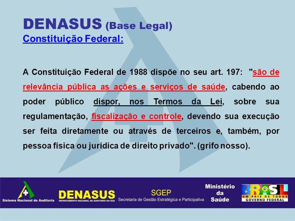 Constituição Federal: A Constituição Federal de 1988 dispõe no seu art. 197: