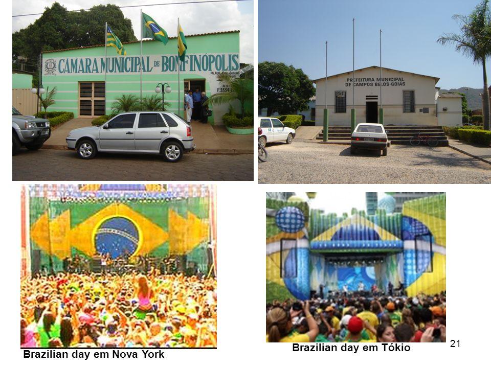 21 Brazilian day em Nova York Brazilian day em Tókio