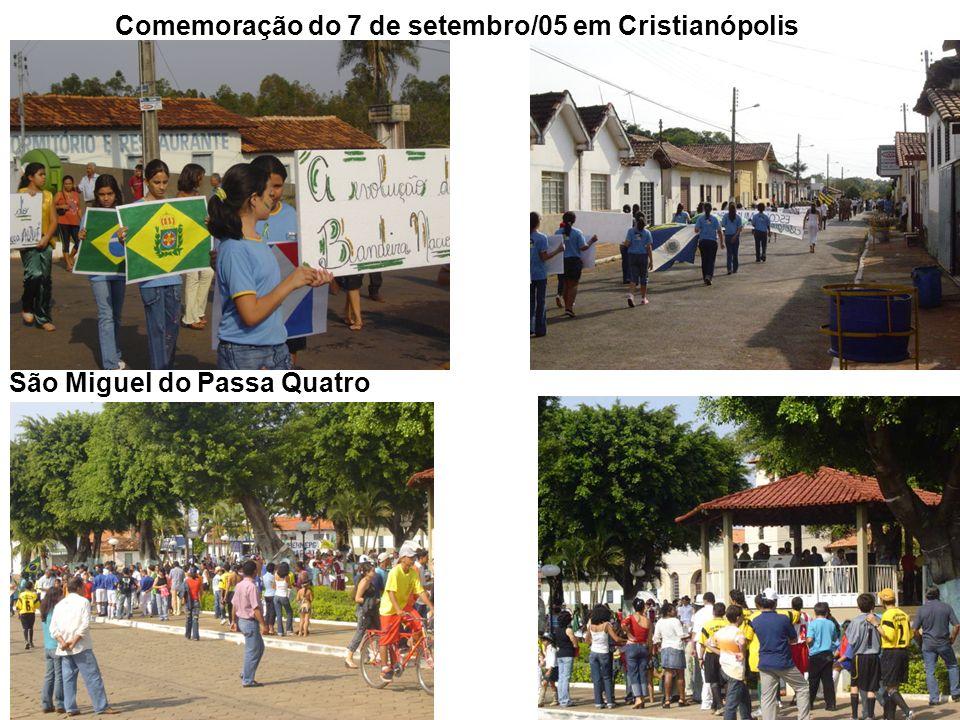 25 Comemoração do 7 de setembro/05 em Cristianópolis São Miguel do Passa Quatro