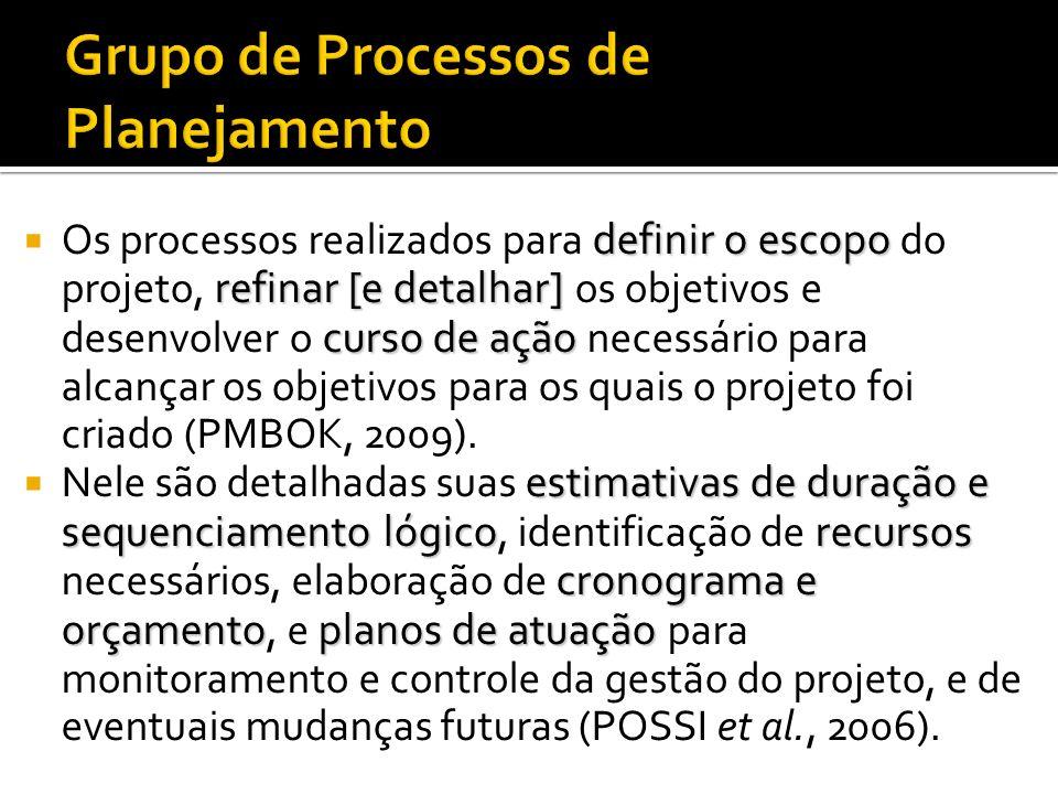 Facilitam a autorização formal para iniciar o projeto ou fase do projeto; Podem resultar na continuação de um trabalho interrompido; São freqüentement