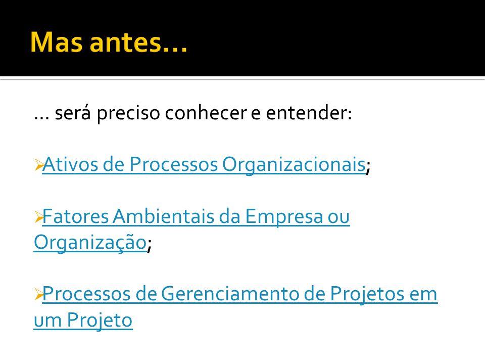 Prover capacitação para: -Identificar os processos de Gerenciamento de Projetos; -Desenvolver o Plano de Gerenciamento; -Construir um sistema de contr