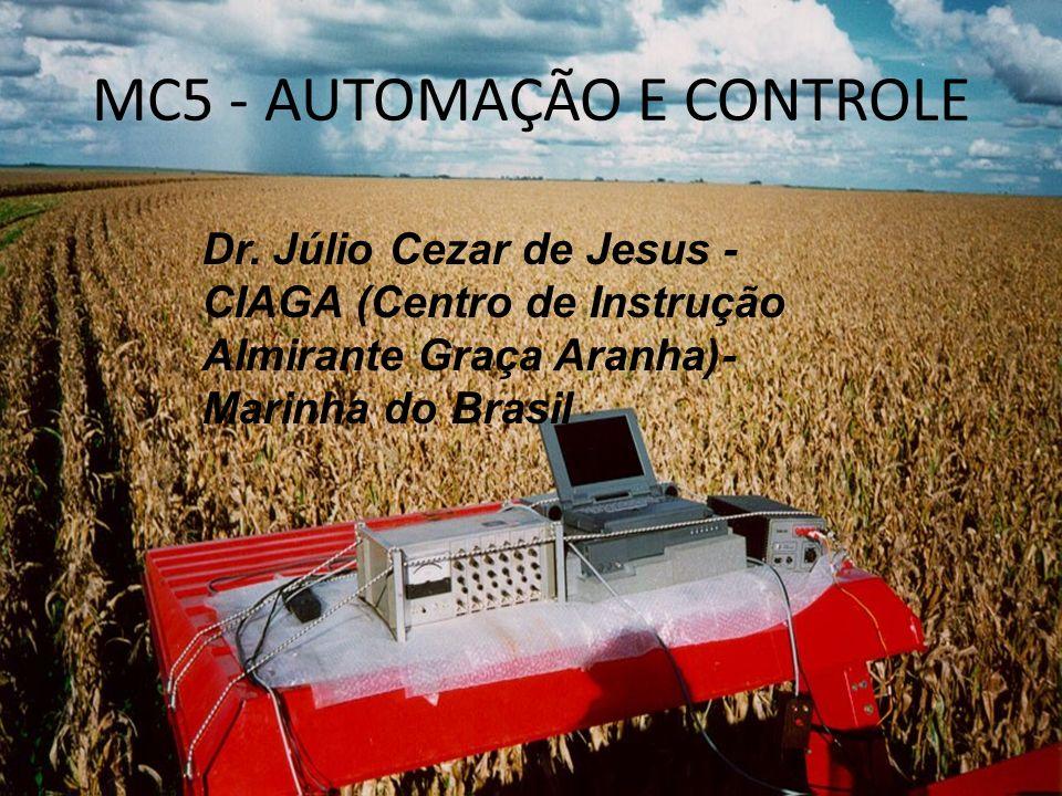 MC5 - AUTOMAÇÃO E CONTROLE Dr. Júlio Cezar de Jesus - CIAGA (Centro de Instrução Almirante Graça Aranha)- Marinha do Brasil