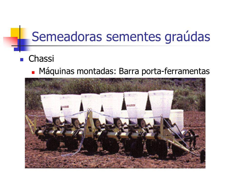 Semeadoras sementes graúdas Chassi Máquinas montadas: Barra porta-ferramentas