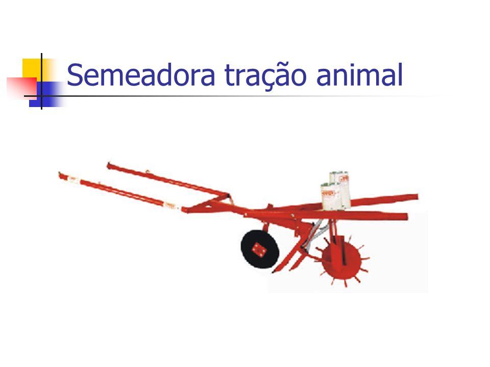 Semeadora tração animal