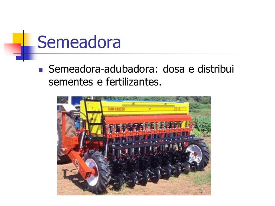Máquina Mecanismo de cobertura Mecanismo dosador de sementes Danos às sementes Tipo de sulcador Características do solo