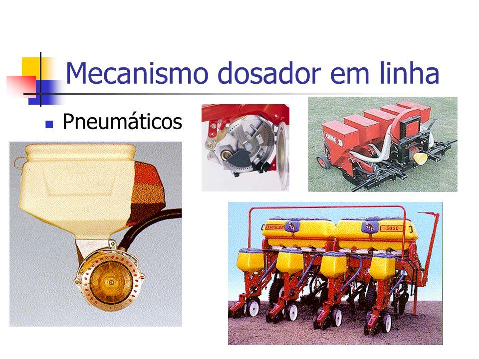 Pneumáticos Mecanismo dosador em linha