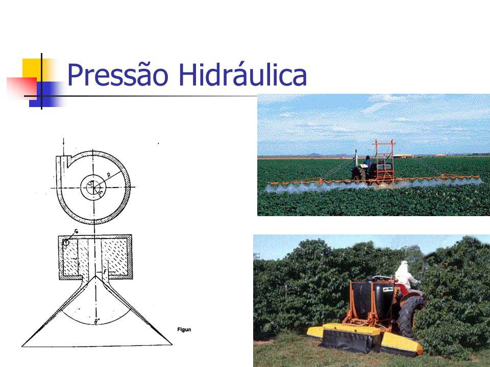 Pressão Hidráulica Pulverizador